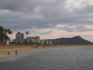 Sunset Run at Ala Moana Park